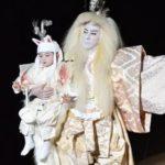 勸玄くん宙乗り 親子初共演の初日は、大成功!
