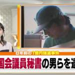 上倉崇敬容疑者の顔画像!同じ手口で逮捕されていた!二之湯智参院議員秘書1億円強盗