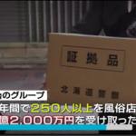 真田雅の逮捕と顔画像は?ススキノで1億2千万の風俗スカウト料