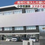 金井基樹の顔画像あり!イケメン小学校教員が地元高校に盗撮侵入逮捕・上田市
